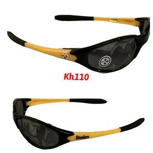 NFL Pittsburgh Steelers Sleek Wrap Sunglasses -UV 400 Protection- Kids