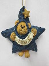"Boyds #257012 - ""Starsky Peeker"" - Boyds Beary Best Christmas Ornament * Resin"