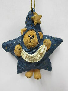 Boyds #257012 Starsky Peeker Boyds Beary Best Christmas Ornament MINT * RESIN