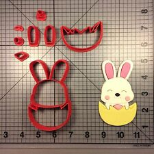 Easter Bunny 102 Cookie Cutter Set