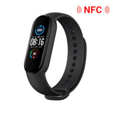 2020 Original Xiaomi Mi Band 5 Black Wristband Global Ver / CN NFC AMOLED Screen