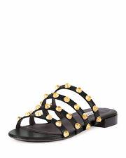 Balenciaga Slide Sandals Studded for