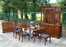 Thomasville 10pc Cherry Replicas Dining Room Set Table 6 Chairs ~ Best on eBay!
