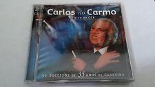 """CARLOS DO CARMO """"AO VIVO NO CCB OS SUCESSOS DE 35 ANOS DE CARRERA"""" 2CD 22 TRACKS"""