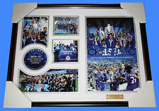 SALE! CHELSEA FC 2014-15 EPL Champions Memorabilia Frame, Limited Editon 499 COA