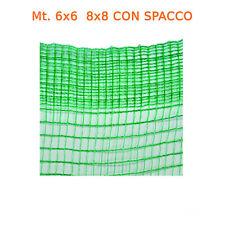 Telo rete raccolta olive Olivella 33gr doppio filo rinforzato con spacco apertur