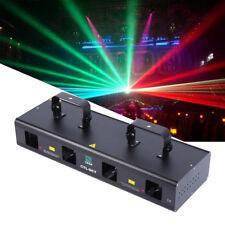 760mW RGYB 4 Lens Blu 450nm della fase del partito del DJ della luce laser DMX