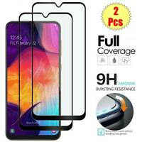 [2-Pcs] Tempered Glass Screen Protector Film For Samsung Galaxy A50 A70 A40 A30