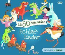 DIE 50 SCHÖNSTEN SCHLAFLIEDER  3 CD NEU
