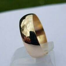 lovely 9 Carat Gold wedding ring Ring size W