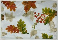 Brilliant Autumn Fall Maple Leaves Thanksgiving Damask Placemats Set of 4