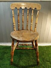 Vintage Solid Wood Windsor Country Style Dining Chair UK