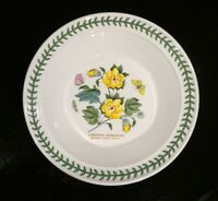Beautiful Portmeirion Botanic Garden Barbados Cotton Flower Rimmed Soup Bowl