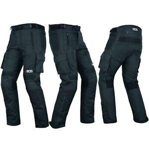 Motorradhose mit Protektoren Herren Textil Motorrad Hose Gr XS-5XL