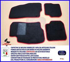 Tappetini Fiat Grande Punto 2005> Tappeti auto antiscivolo set su misura per red