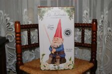 David The Gnome Fishing Rien Poortvliet Garden Statue Large 35cm 2017 NEW in BOX