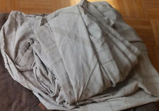 Lot Full/Queen size flat sheet and curtains holders
