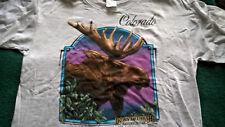 Vintage Nature theme ( Moose) T shirt NWOT XL