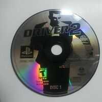 Driver 2 (Sony PlayStation 1, 2000) Disc 1 Only Tested