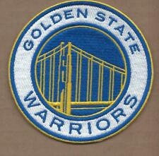 NEW 4 INCH GOLDEN STATE WARRIORS IRON ON PATCH FREE SHIP E1
