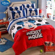 Disney Mickey mouse Children Bedding Set Comforter Case Duvet PillowCases Cover