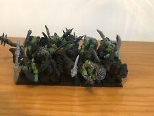 Regimiento Guerreros Orcos - 6ª Edición - Warhammer Fantasy