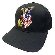 NRA Mens Hat National Rifle Association Member American Eagle Snapback