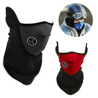 Motorbike Cycling Half Face Mask Dustproof Pollution Filter Windproof Veil Snow