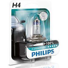 PHILIPS X-TREME VISION H4 HALOGENLAMPE +100% P43T 12V 60/55W (1ER) 12342XVB1