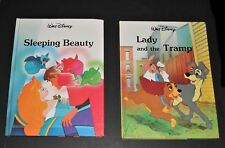 Lot of 2 1990's Disney Classic Series Sleeping Beauty - Lady and the Tramp
