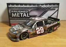 2011 Kevin Harvick #29 Budweiser Military Tribute BRUSHED METAL 1:24 HOTO #025