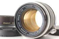 [NEAR MINT HOOD] Canon 50mm f/1.8 Lens Leica Screw Mount L39 LTM Black Japan