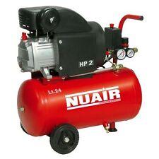004t391169 compresor aire monoblock Nuair 2 HP ... 24 litros