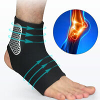 Ankle Sprain Brace Foot Support Bandage Achilles Tendon Strap Guard Protector C