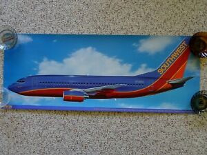 Southwest Airlines 30th Anniversary Sprint One 737 Plane Poster