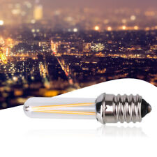 82BF LED E14 DC12V Light New Filament Lamp Yellow Glass Mental Decor Compact