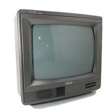 Vintage RCA XL 100 E13155WN Wood Grain Broadcast CRT Television 1992