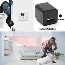 8GB HD 1080P Mini USB Wall AC Adapter US Plug Charger Spy Camera Nanny FBI DV