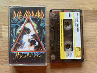 DEF LEPPARD Hysteria Cassette Tape - Rare TURKISH Sticker Tape KTB