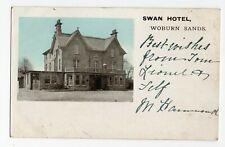 PC WOBURN SANDS THE SWAN HOTEL BUCKINGHAMSHIRE c1912