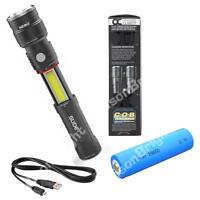 5 Pack NEBO SLYDE KING 330 Lumen LED Flashlight 6434 250 Lumen USB rechargeable