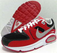Nike Air Max Command Mens Size 7.5 Red White Black Silver 629993-039 Trainer