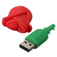 2GB USB Unidad En forma Rosa comic USB 2.0 Tarjeta memoria Flash Drive lindoM7T9
