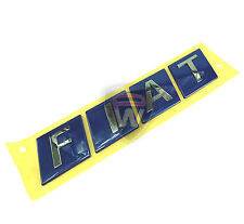 FIAT isole Ducie e Oeno VAN CAMPER Pickup ETC FIAT badge 260 mm x 55 mm NUOVI & ORIGINALI FIAT