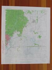 Orange Texas 1961 Original Vintage USGS Topo Map