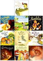 Children Picture Storybooks 10 Books Collection Set Ugly Duckling, Aladdin, Gold