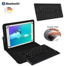 """Abnehmbar Bluetooth Tastatur mit Touchpad Samsung Galaxy Tab A6 10.1"""" Hülle TP"""