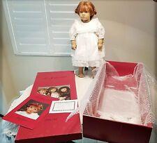 "Vtg 1991-92 ""Liliane"" by Annette Himstedt a Puppen Kinder doll w/box by Mattel"