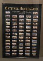 Vintage Ostjyske Herregarde A Guide To Danish Houses Manors Estate Poster