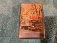 VINTAGE PLAYING CARDS DECK ROADWAY TRUCKING IN CASE